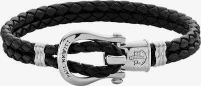 Paul Hewitt Armband in schwarz / silber, Produktansicht