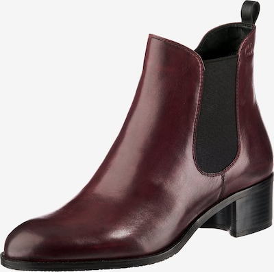 GERRY WEBER Chelsea Boots 'Sabatina 02' in blutrot: Frontalansicht