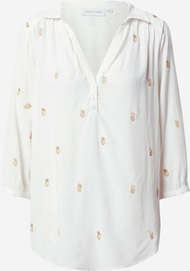 Fabienne Chapot Bluse 'Trudy Embro Top' in braun / weiß, Produktansicht