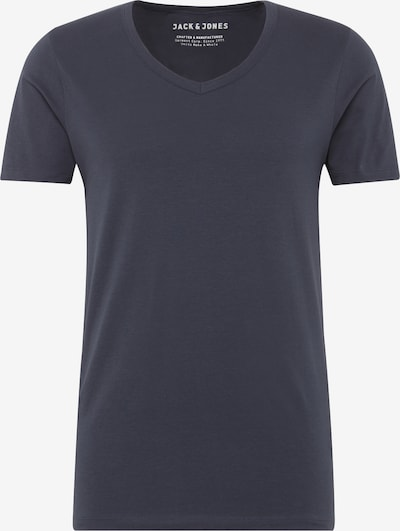 JACK & JONES T-Shirt 'BASIC V-NECK TEE S/S NOOS' in navy, Produktansicht