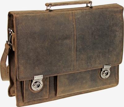 Harold's Aktentasche in kastanienbraun, Produktansicht