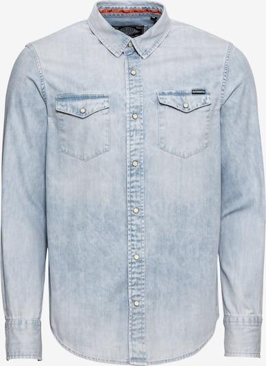 Dalykiniai marškiniai 'RESURRECTION' iš Superdry , spalva - šviesiai mėlyna, Prekių apžvalga