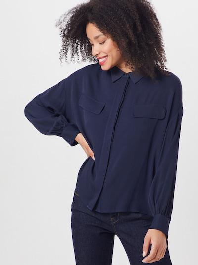 OPUS Bluzka 'Folika' w kolorze niebieskim, Podgląd na modelu(-ce)