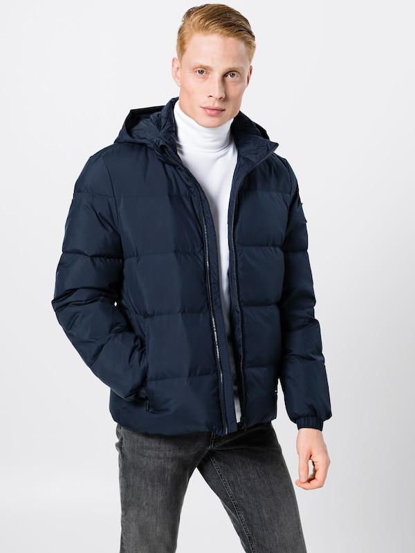 Calvin Klein Nuit Jeans Veste Bleu D'hiver En wv8nN0mO