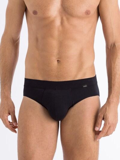 Hanro Slip ' Natural Function ' in de kleur Zwart, Modelweergave