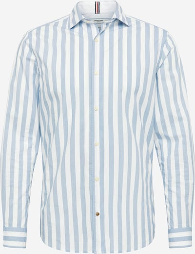 JACK & JONES Srajca | modra / bela barva, Prikaz izdelka