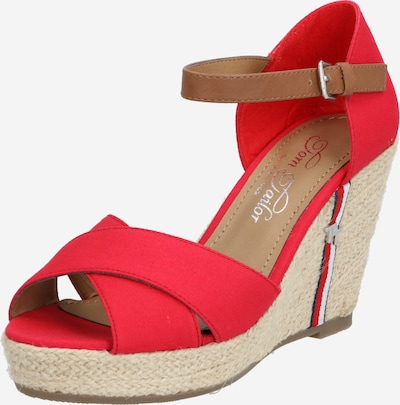 TOM TAILOR Sandály - červená, Produkt
