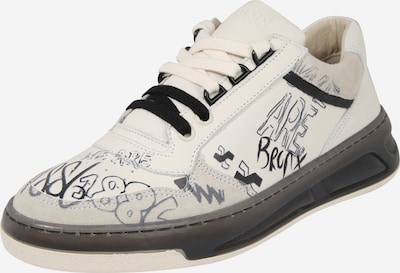 BRONX Sneaker 'Old-Cosmo' in schwarz / weiß: Frontalansicht