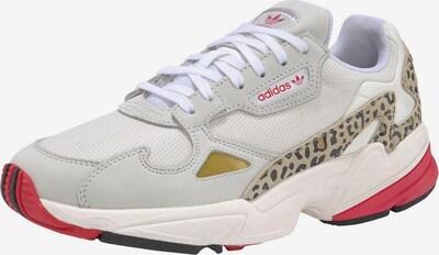 ADIDAS ORIGINALS Sneaker 'Falcon W' in beige / gelb / pink, Produktansicht