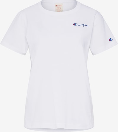 Champion Reverse Weave T-shirt en blanc, Vue avec produit