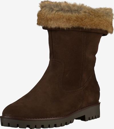 ARA Stiefel 'Anchorage' in hellbeige / dunkelbraun, Produktansicht