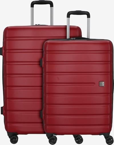 D&N Kofferset 'Travel Line 2202' in rot, Produktansicht