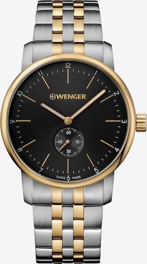 WENGER Montre à affichage analogique 'Urban Classic' en or / noir / argent, Vue avec produit