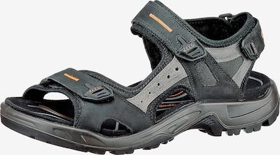 ECCO Sandale 'Offroad' in grau / hellorange / schwarz, Produktansicht