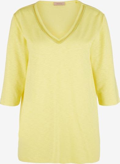 TRIANGLE Shirt in gelb, Produktansicht