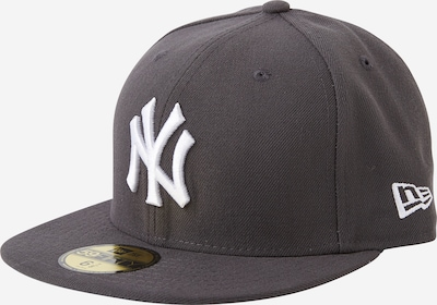 NEW ERA Cap '59FIFTY MLB Basic New York Yankees' in grau / dunkelgrau, Produktansicht