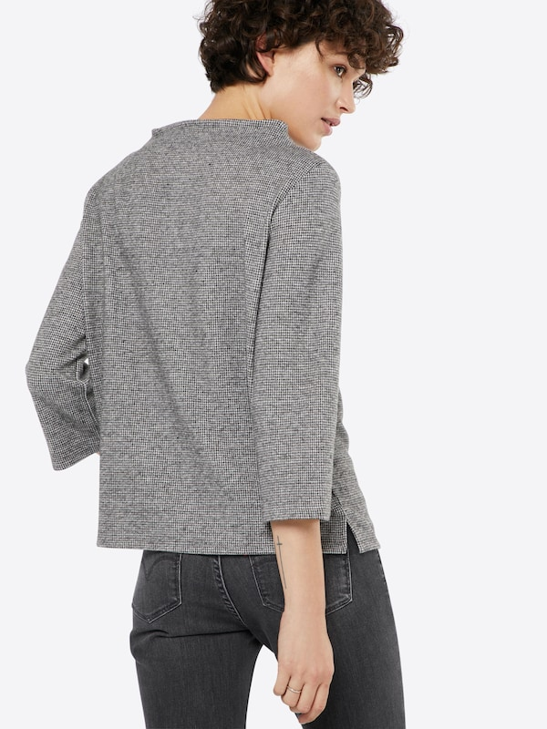 Tom Tailor Pullover With Mini-houndstooth Muster