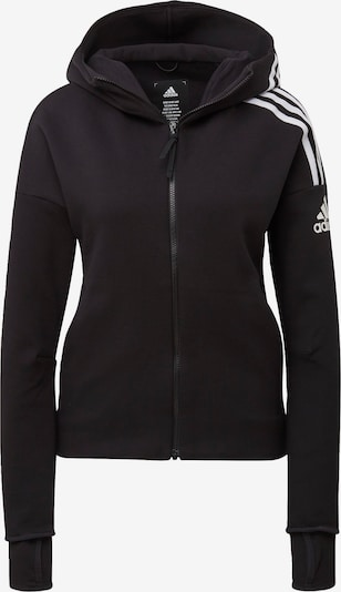 ADIDAS PERFORMANCE Sweatjacke in schwarz, Produktansicht