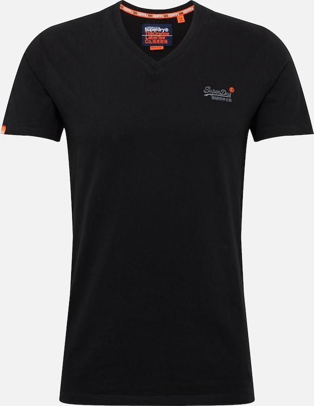 T En T shirt Noir Superdry shirt En Superdry dxBCreo
