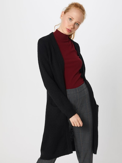 minimum Cardigan 'Kerstin' in schwarz, Modelansicht