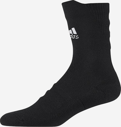 ADIDAS PERFORMANCE Socken 'Alphaskin Crew Ultralight' in schwarz / weiß, Produktansicht