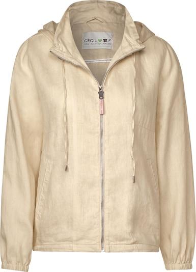 CECIL Leichte Jacke aus Leinen in beige, Produktansicht