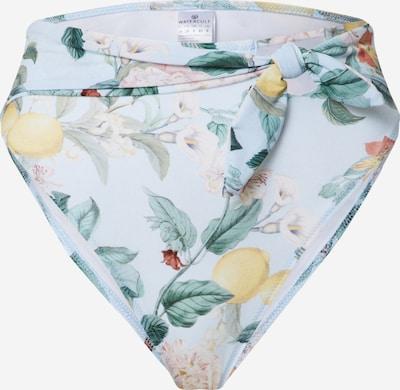 watercult Bikini hlačke | mešane barve / bela barva, Prikaz izdelka