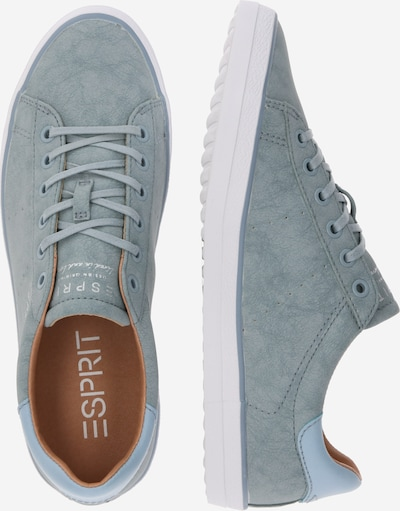 ESPRIT Sneakers laag 'Miana LU ' in Lichtblauw   ABOUT YOU