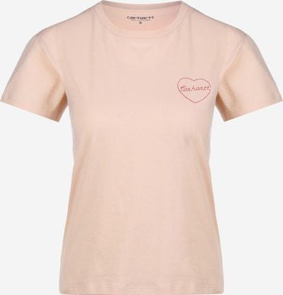 Carhartt WIP T-Shirt ' Tilda Heart W ' in rosa, Produktansicht