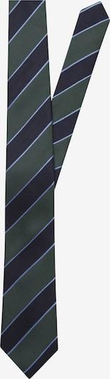SEIDENSTICKER Krawatte 'Schwarze Rose' in navy / royalblau / dunkelgrün, Produktansicht