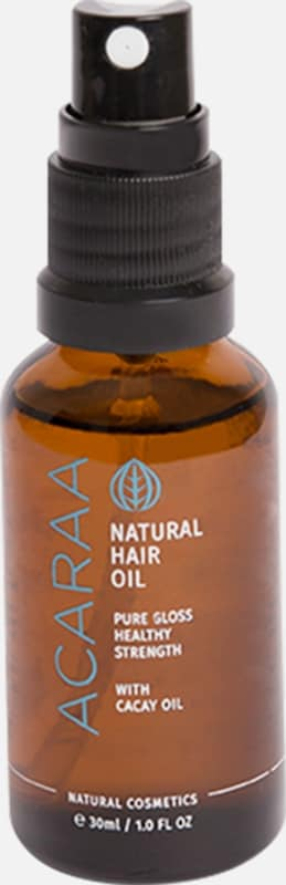 ACARAA Naturkosmetik Haaröl Natural Hair Oil Travel Size 30ml in braun, Produktansicht