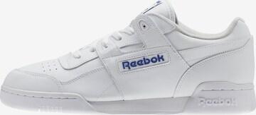Baskets basses 'Workout Plus' Reebok Classics en blanc