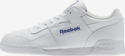 Reebok Classic Sneaker 'Workout Plus' in blau / weiß, Produktansicht