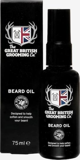 The Great British Grooming Co. Bartöl in schwarz / weiß, Produktansicht