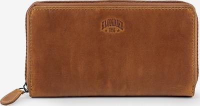 KLONDIKE 1896 Börse 'Viola' in cognac, Produktansicht