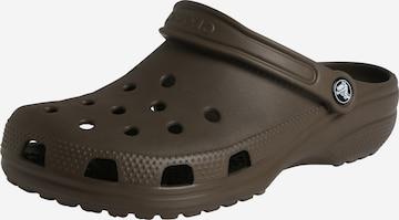 Crocs Clogs in Braun