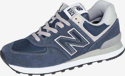 new balance Sneaker 'WL574EB' in blau / grau / weiß, Produktansicht