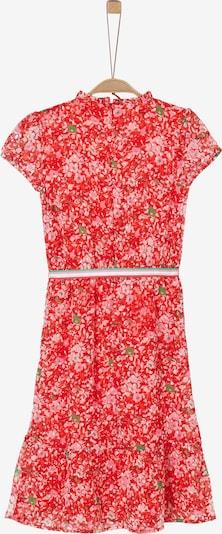s.Oliver Kleid in grün / rot / weiß, Produktansicht