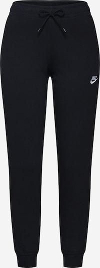 Nike Sportswear Kalhoty - černá / bílá, Produkt