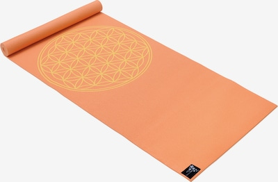 YOGISTAR.COM Yogamatte 'Basic Flower Of Life' in orange, Produktansicht