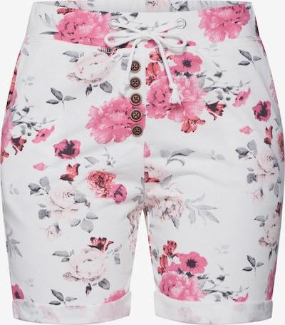 Hailys Shorts 'Sabina' in mischfarben / weiß, Produktansicht