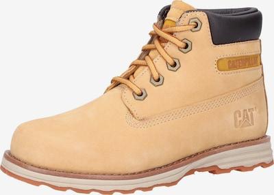 CATERPILLAR Chaussure basse en chamois / brun foncé, Vue avec produit