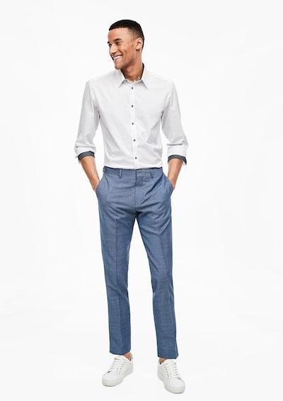 s.Oliver BLACK LABEL Hose in blaumeliert, Modelansicht