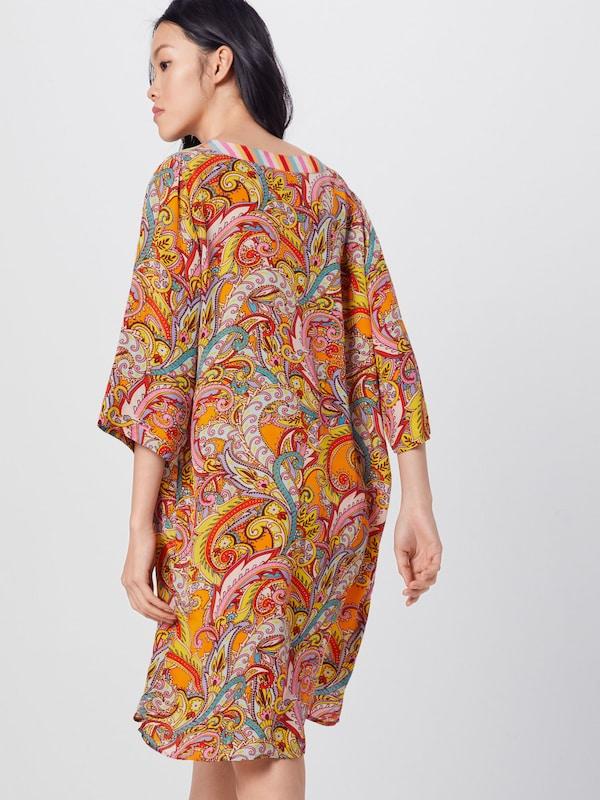 Frogbox Kleid in hellblau / gelb / orange / pink | ABOUT YOU