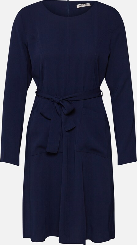 ABOUT YOU Kleid 'Gianna' in navy: Frontalansicht