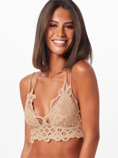 Free People Bralette 'ADELLA' in nude: Frontalansicht