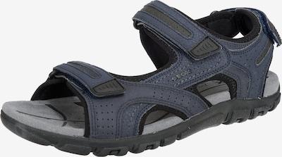 GEOX Trekinga sandales 'Uomo Strada' jūraszils, Preces skats