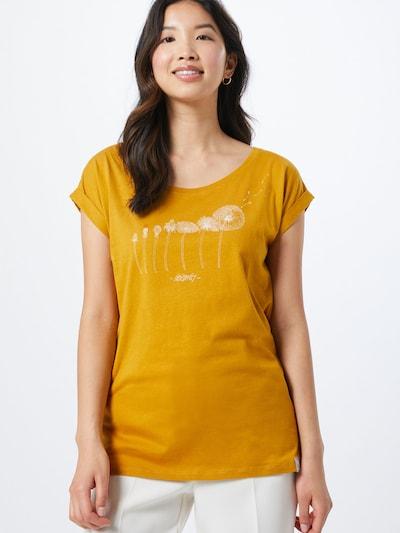 Iriedaily Koszulka 'Evolution' w kolorze żółtym: Widok z przodu