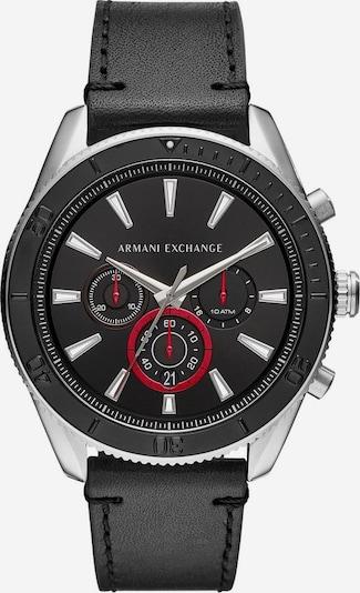 ARMANI EXCHANGE Chronograph 'AX1817' in rot / schwarz / silber: Frontalansicht