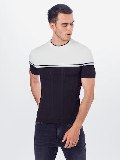 River Island T-Shirt en opal / noir / blanc: Vue de face